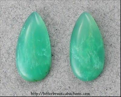 Chrysoprase Pair
