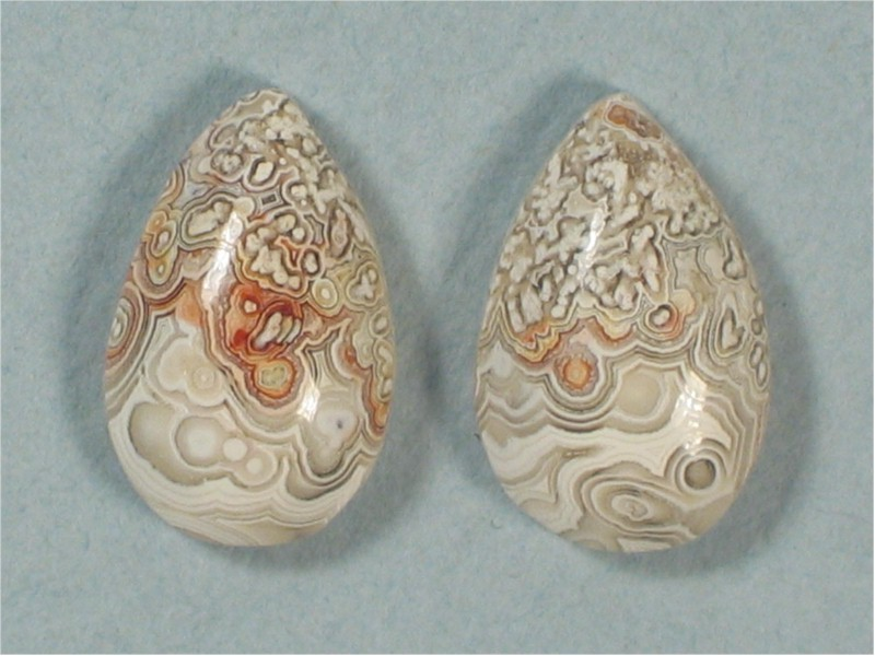 Lace Agate Pair