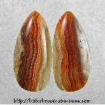 Lace Agate Cabochons
